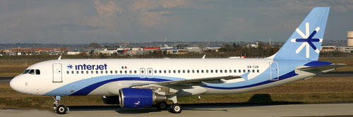 Interjet Airline Mexico