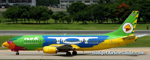 Nok Air Low-cost Airline